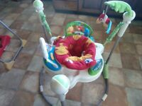 Fisher price jungle jumperoo £25