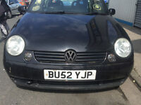 VW LUPO BREAKING FOR PARTS ONLY