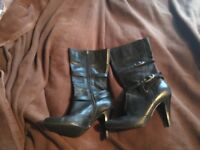 Fabulous black boots by faith. Boots that look great with skinny jeans or skirt for any occasion
