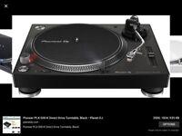 BRAND NEW Pioneer PLX 500 turntable. Unwanted gift, black.