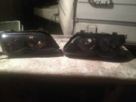 Bmw e46 front / rear lights £ 15 each! face lift 02-06)
