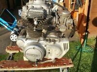 HONDA CB 250G5 ENGINE WITH CARBS