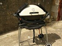 WEBER PORTABLE BARBECUE with CART