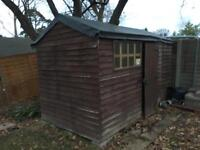 Shed - garden storage - special EPDM roof - bike and toll storage