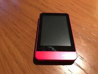 Philips GoGear 8GB MP3 black and red