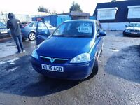 2005 Vauxhall Corsa Design Twinport 1.2 Choice or 2 From £695 Both 5 Door Models