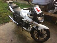 Honda CBF125, 2013 low mileage, great condition.