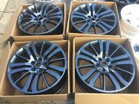 "Genuine 20"" RANGE ROVER SPORTS ALLOYS 5x120 (ideal for VW T5)"