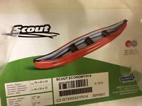 Scout economy canoe