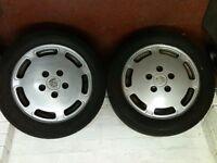Porsche 928 Alloy wheels (Pair)