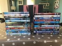 Large collection of Iconic kids movies (7yrs+)