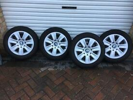 BMW winter snow tyres & wheels