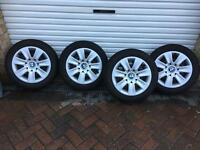 BMW winter snow tyres & wheels