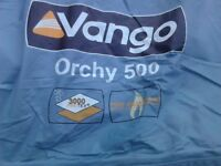 vango five man tent with extras