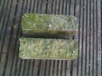Buff coloured garden bricks for sale