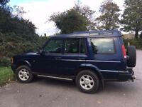Landrover Discovery Td5 2002, 125k miles.