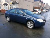 Nissan primera 54 reg new shape, good condition ,drives well ,REVERSING CAMERA ,px options available