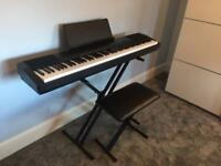 Casio CDP130 digital piano bundle