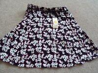 Ladies floral skirt