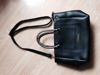 Brand new black bag with shoulder strap