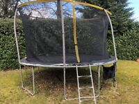 12ft Sportspower Trampoline includes ladder and shoe bag