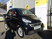 Smart Fortwo 1.0 MHD Passion Softouch 2dr, 1 previous owner, stop/start