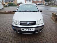 Fiat Punto Active 1.2 8V Petrol 2004 Reg ABS PAS C/L E/W MOT Till April