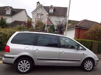 (2005) VW SHARAN 1.9 TDi SPORT 150BHP AUTOMATIC 7 SEATER MPV 1 DR OWNER, FSH, 9 STAMPS, MASSIVE SPEC