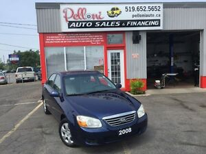 2008 Kia Spectra LX NO ACCIDENTS COLD A/C+PWR OPTIONS