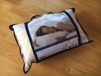 *Brand New* Tempur Traditional Travel Comfort Pillow with Travel Case