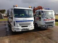 IVECO CARGO 7.5 T HIAB T/SLIDE RECOVERY VEHICLE, HI,SPEC.