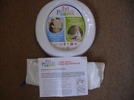 CHILD'S TRAVEL POTTY/TRAINER SEAT
