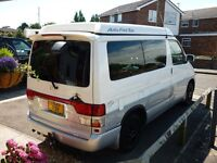 Mazda Bongo 2.5TD Auto Campervan (Betsy) Full Side Kitchen