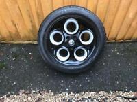 "Custom painted alloy wheels 16"""