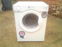 WHITE KNIGHT 3KG REAR VENTED TUMBLE DRYER,CLEAN WITH NO NASTY SMELLS,CAN BE SEEN WORKING,creda,bosch