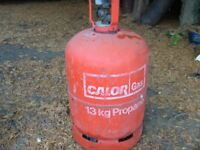 Calor Gas 'Empty' 13kg Propane BBQ gas bottle, can be delivered