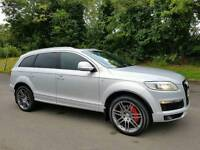 """SORRY NOW SOLD!! 08 Audi Q7 3.0 TDI S LINE 7 SEATER! SAT-NAV, PAN-ROOF, FACTORY 21"""" WHEELS"""