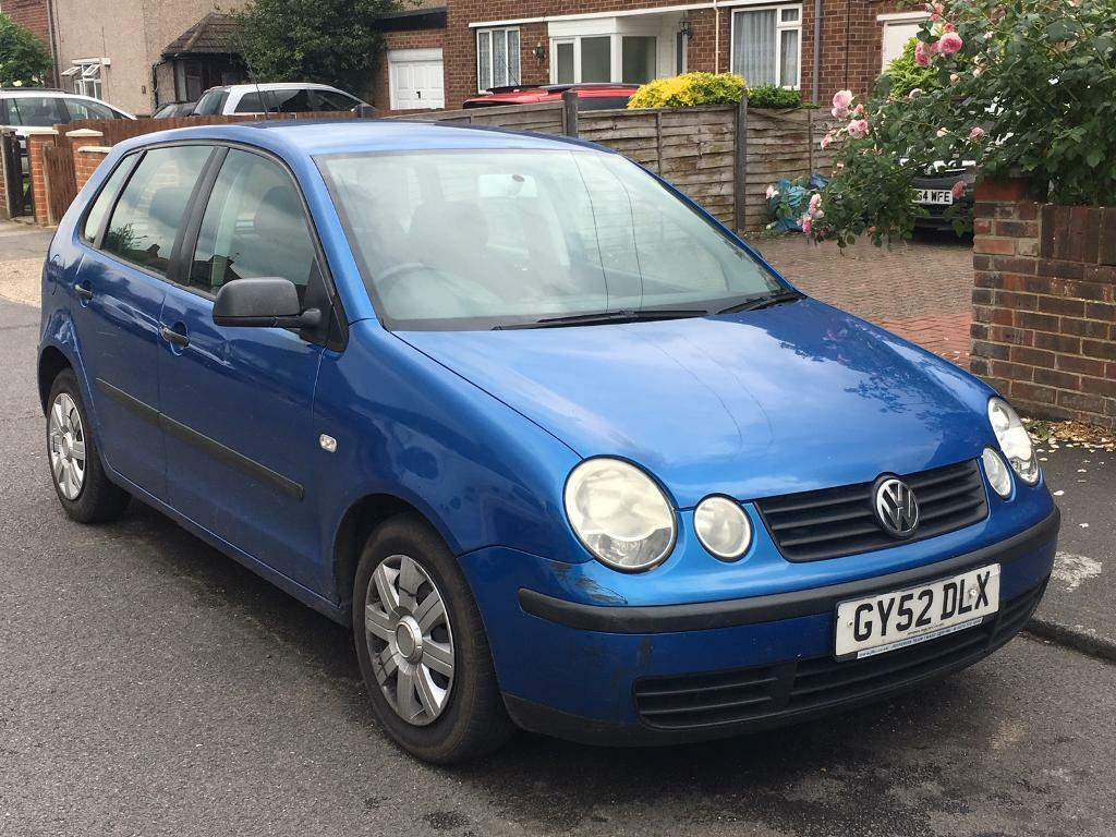 vw volkswagen polo 1 2 2003 5door in heathrow london gumtree. Black Bedroom Furniture Sets. Home Design Ideas