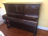 Piano - Spencer (London) upright piano in good condition