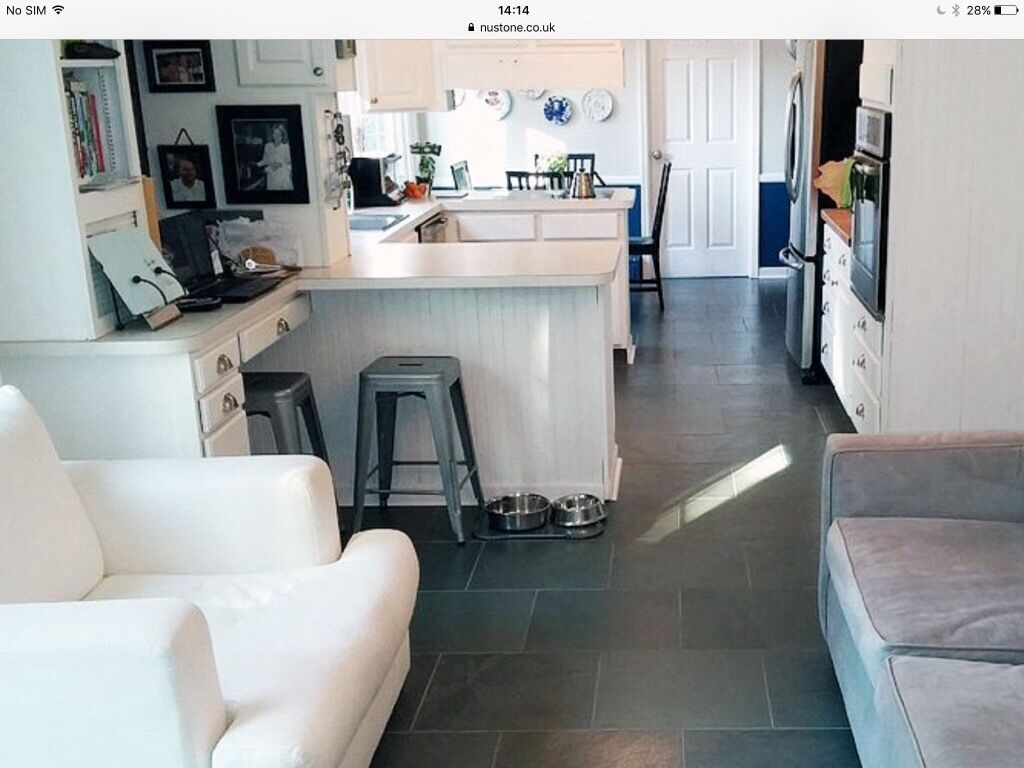 Nero slate 600 x 600mm calibrated floor tiles 44nr 16m2 remaining from tiling at homein Upminster, LondonGumtree - Ive completed my home project and have 44nr 600 x 600mm Nero black slate floor tiles, these are very flat (not heavily riven) and therefore easy to clean. They are also calibrated making them a lot easier to lay and therefore are sold by suppliers as...