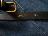 'Genuine Leather' Belt.