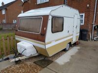 4 berth caravan good condition