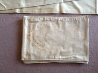Laura Ashley Gold Table Runner with 6 Matching Placemats