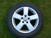 VW Golf GTD Alloy Wheel