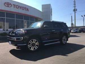 2016 Toyota 4Runner LIMITED 7-PASS, LEATHER, MOONROOF, NAV, 20 A
