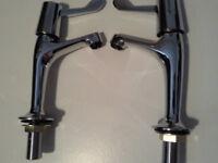 BRISTAN SINK AND BATH TAPS- NEW - LEVER NECK CHEEP PRICE £32 ovno