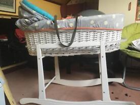 Baby k Moses basket