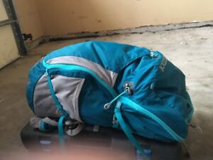 Blue and grey Marmot Backpack(travel/hike)