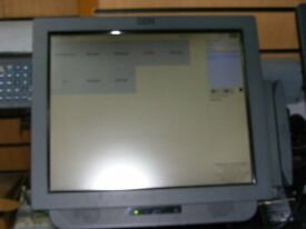 "15 or17"" IBM EPOS Till System for Gym Members Club Hairdresser Salon Unlimited Clients"