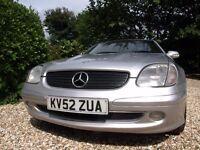Mercedes SLK in fabulous condition